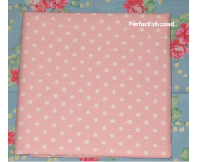 Pillowcases Pink Polka dot spot Single Soft Brushed Cotton Bedlinen