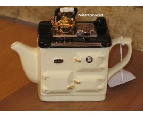 Rayburn Aga Style Teapot One Cup Cream ceramic collectable