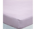 Catherine Lansfield Fitted Sheets Red Stripe Dou..