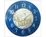 Retro Wall Clock Blue M..