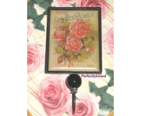 Coat Hook Scotts Roses Pink Cream Apron Kitchen