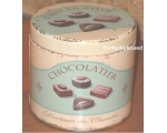 Wiscombe Chocolatier Storage Tin Retro Kitchen C..