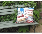 Wiscombe Cream Teas Cushion Cover Vintage Retro