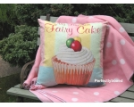 Wiscombe Favourite Fairy Cakes Cushion Cover Vin..