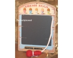 Wiscombe Mini Chalkboard Fresh Eggs Retro Kitche..