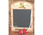 Wiscombe Mini Chalkboard Olive Oil Retro Kitchen..