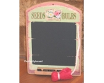 Wiscombe Mini Chalkboard Seeds Bulbs Retro Kitch..
