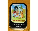 Robert Opie Tins Golden Shred Golly