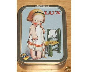 Robert Opie Keepsake Tin Retro Lux Soap bathroom washing powder