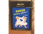 Robert Opie A5 Metal Sign Persil Nurses Retro