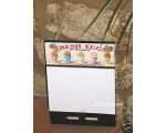 Wiscombe Scribbler Pad Fresh Eggs Retro Kitchen ..