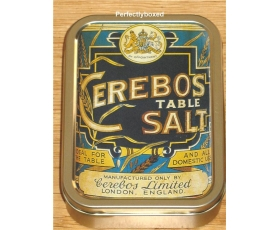 Robert Opie Keepsake Tin Retro Cerebos Table Salt