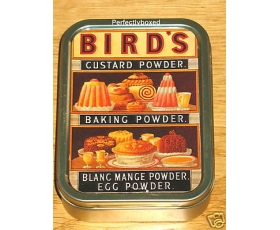 Robert Opie Keepsake Tin Retro Birds Custard