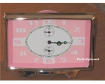 Retro Alarm Clock Pink ..