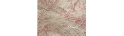Quilts Pink Toile