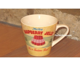 Wiscombe Retro Mug Raspberry Jelly Large Pink Red