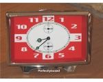 Retro Alarm Clock Red M..