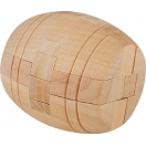 Chunky Wooden Barrel