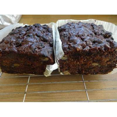 Rich Fruit Cake - vegan..