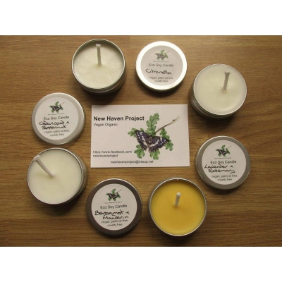 Small Eco Soy Wax Candl..
