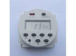 DC 12V Digital LCD Display PLC Programmable Time