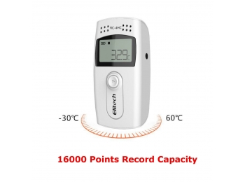 RC-4 Mini Temperature and Humidity Data Automatic Logger 16000 Points