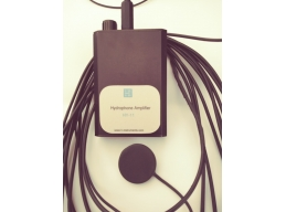 Hydrophone & amplifier with 4 m cable for underwater sound recording