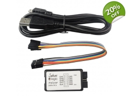 USB Logic Analyzer 8 Channel  24MHz use Saleae software