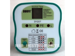 DY207 Electrical Socket Tester Plug 4 Versions CN, EU, UK, US.