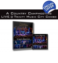 A Country Campmeeting LIVE @ Trinity Music City DVD & CD Combo