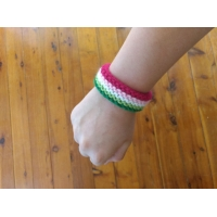 Abro flag wristband
