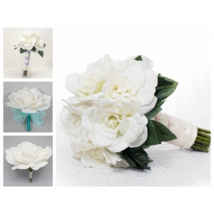 Gardenia Wedding Flower Package- 10 Piece