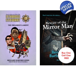 Lethbridge-Stewart: The Dreamer's Lament and Beware of the Mirror Man