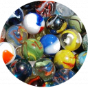 50 Assorted WORLDS BEST LOOSE MARBLES
