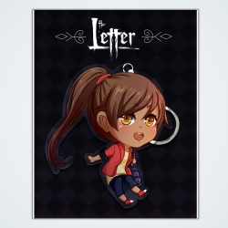 The Letter: Keychain Isabella