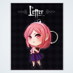 The Letter: Keychain Rebecca