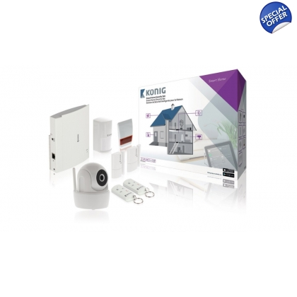Smart Home Security Starter Set Wi-Fi / 868 Mhz