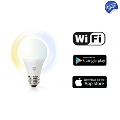 WiFi Smart LED Bulb - Warm to Cool White