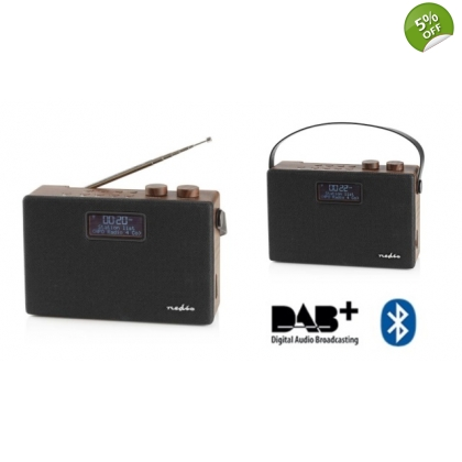 Digital DAB+ Radio 15W FM Bluetooth