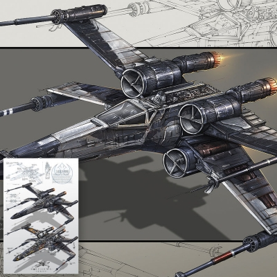 War Fighter Series - PARTISAN X-WING VARIANT
