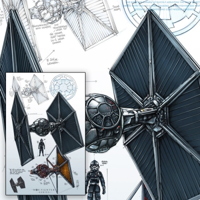 WAR FIGHTER SERIES - TIE FIGHTER