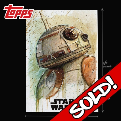 TOPPS STAR WARS - BB-8 UNIT