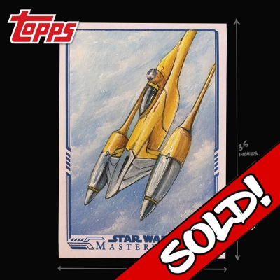 TOPPS STAR WARS - N-1 STARFIGHTER