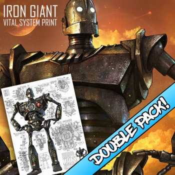 DOUBLE PACK! - IRON GIANT