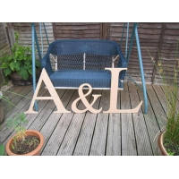 Large mdf Letters
