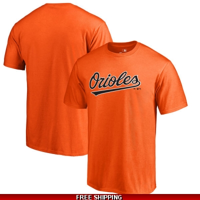 ORIOLES MAJESTIC REPLICA DRI FIT TOPS ADULT short sleeve