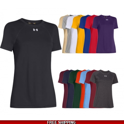 Under Armour Womens Locker T short sleeve VARIOUS COLORS