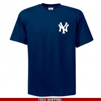 Yankees Cotton Majestic Replica T