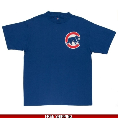 Cubs Majestic Cotton Replica T