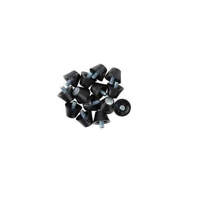 Champ 1/2 inch Steel Tip Football Cleats bag of 50